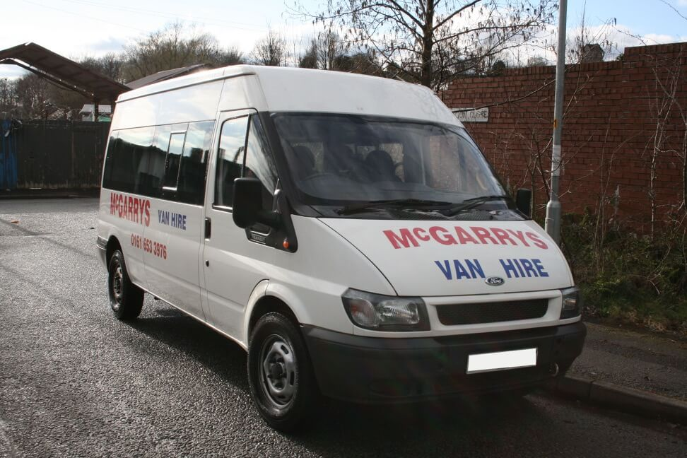 15 Seat Ford Transit mini-bus for hire in Middleton