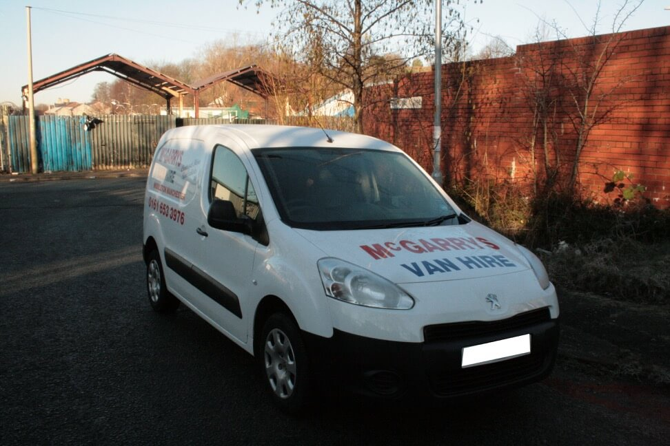 Combo Style Van i.e. Citroen Belingo / Peugeot Partner for hire in Middleton