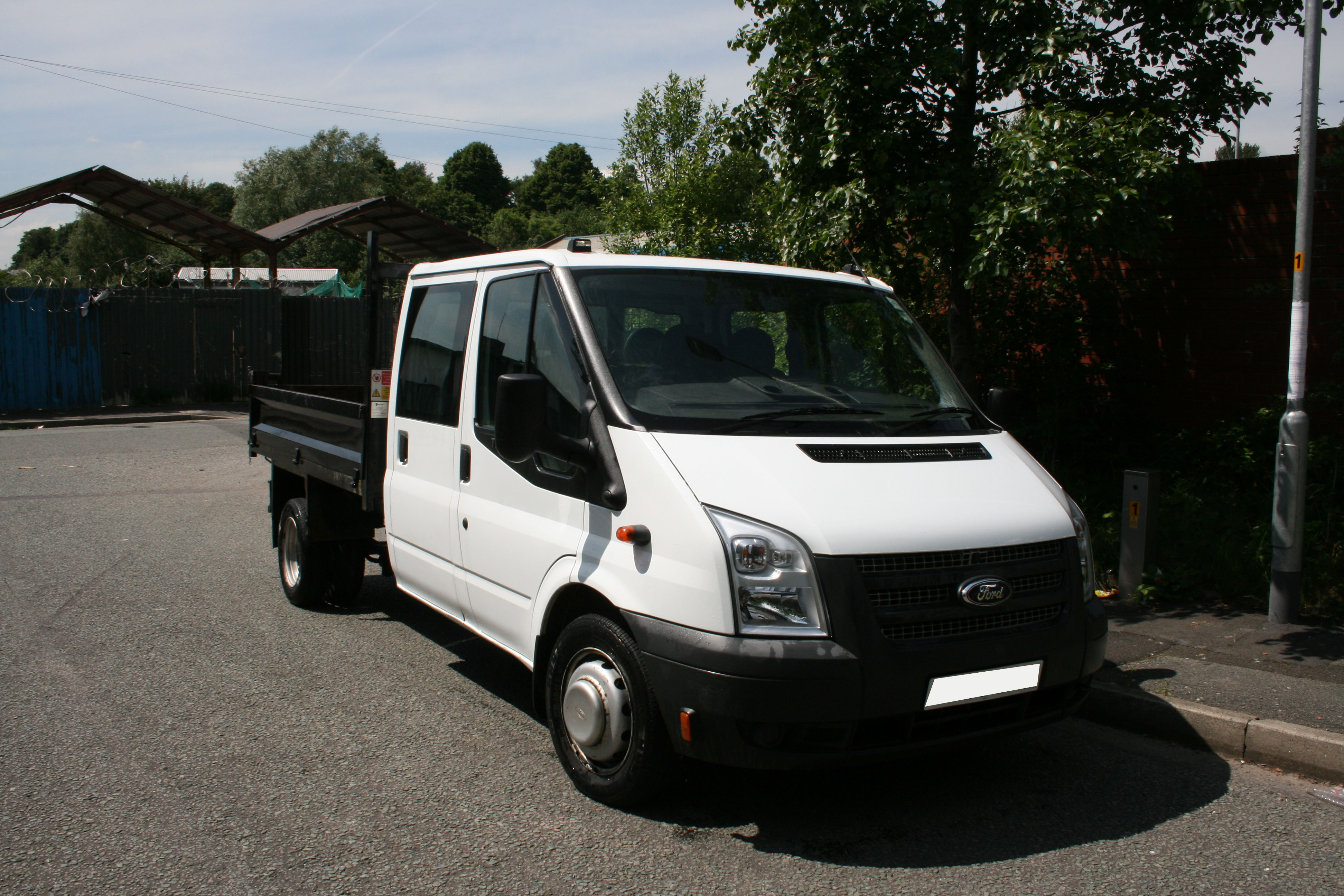 Crew Cab Tipper (Not covered by self-drive insurance and £500 deposit required) for hire in Middleton