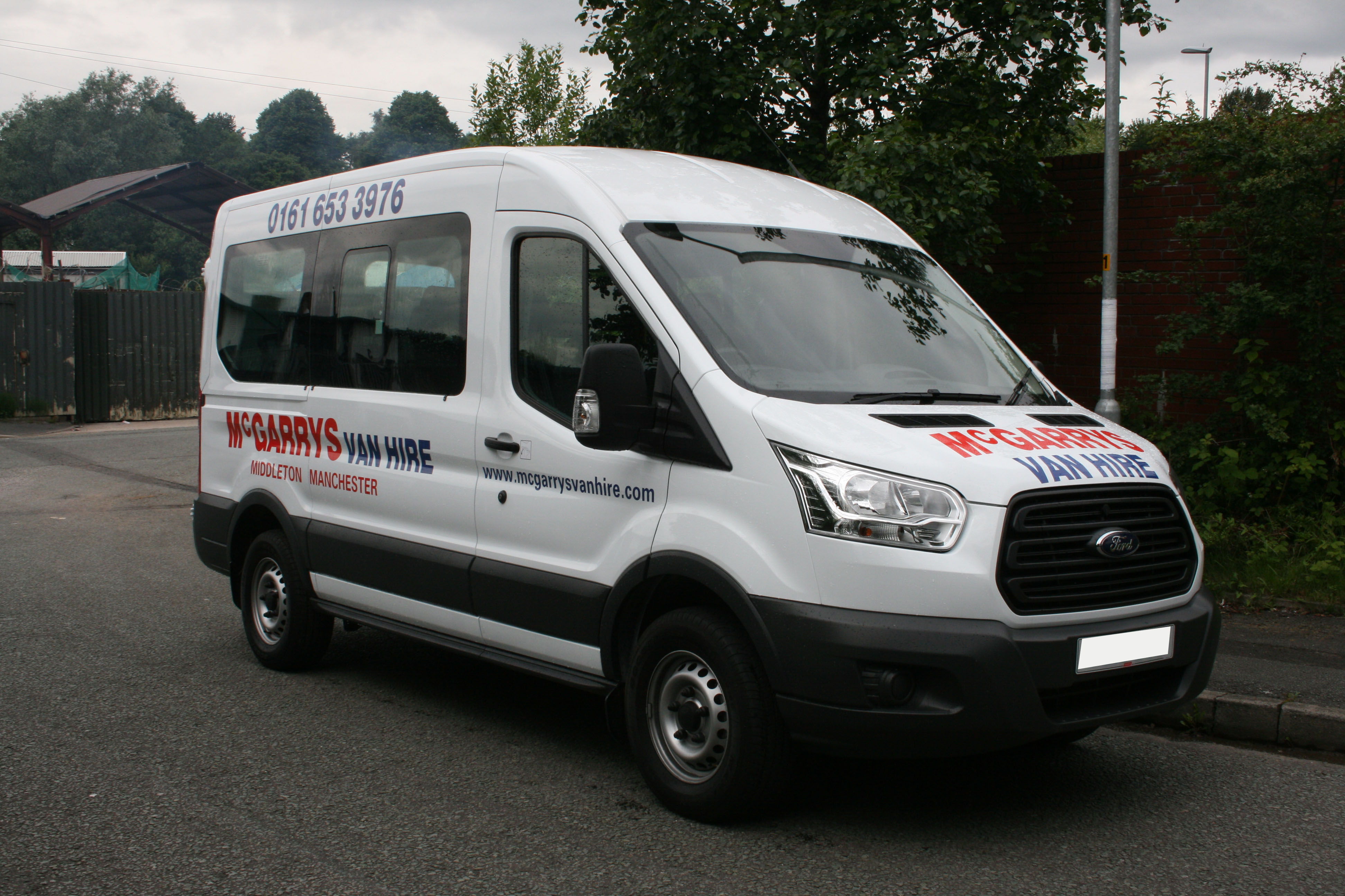 12 seat Ford Transit Mini-bus for hire in Middleton